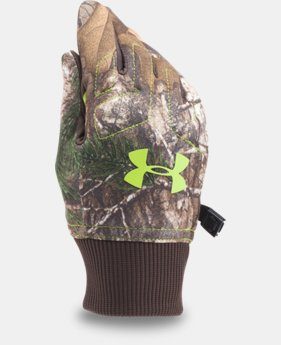 New Arrival Boys' UA Armour® Fleece Gloves   $29.99