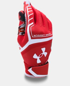 Boys' UA Heater Batting Gloves  1 Color $17.24