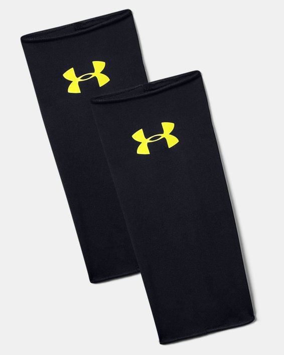 Men's UA Shin Guard Sleeves, Black, pdpMainDesktop image number 0