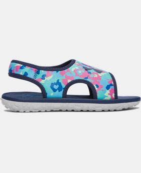 Girls' Pre-School UA Fat Tire Sandals   $29.99