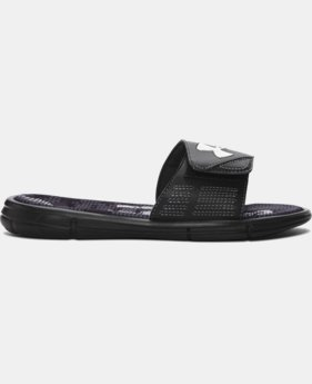 Boys' UA Mercenary VIII Slides  3 Colors $26.99