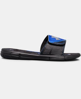 Boys' UA Mercenary VIII Slides  2 Colors $20.99 to $26.99