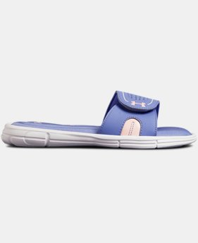 Girls' UA Ignite VIII Slides  1  Color Available $34.99