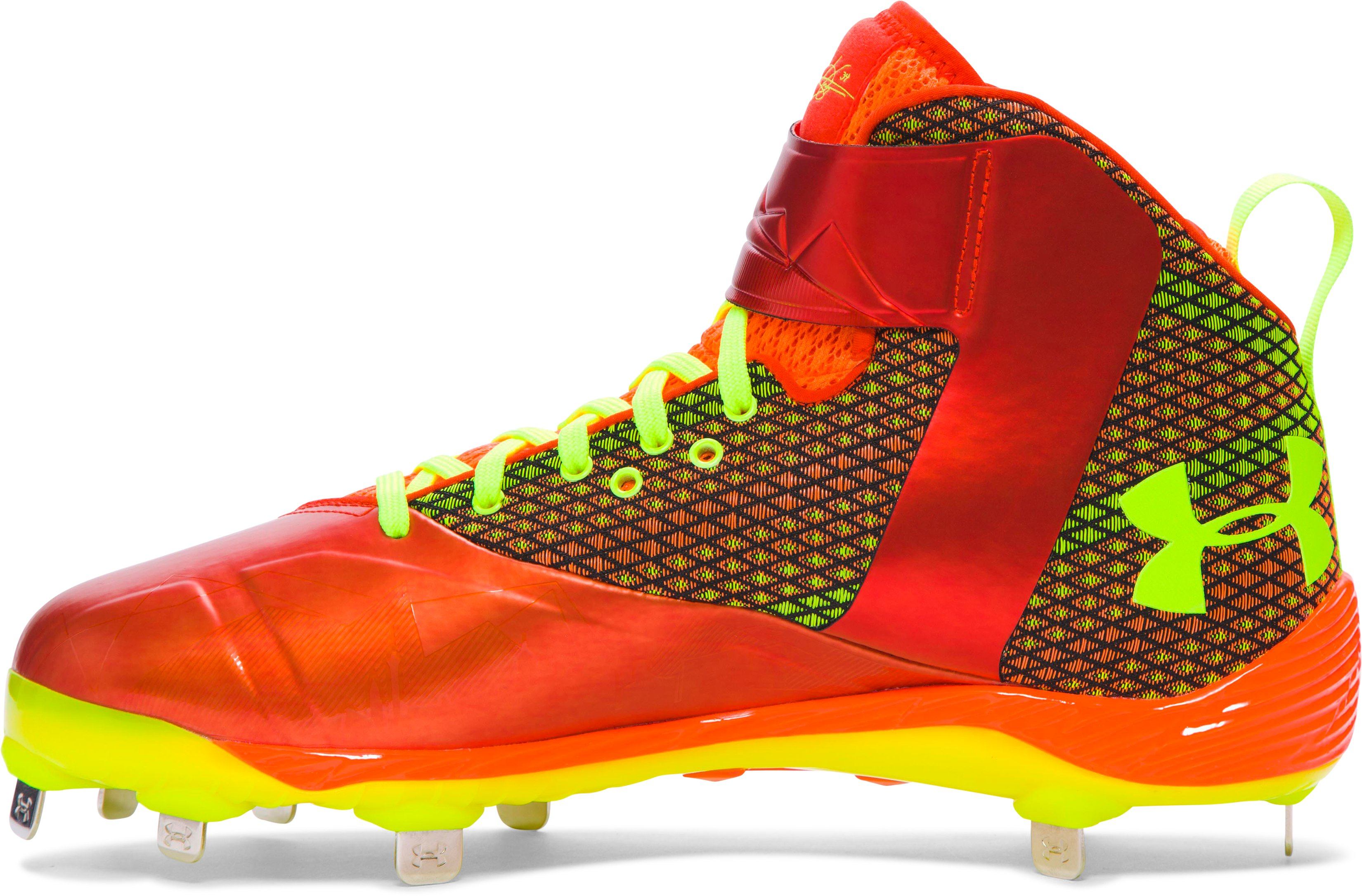 Men's UA Harper One Baseball Cleats — Limited Edition, Red,