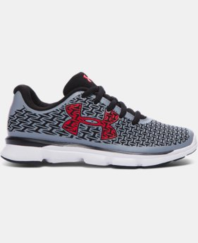 Boys' Pre-School UA ClutchFit® RebelSpeed Running Shoes LIMITED TIME: FREE U.S. SHIPPING 1 Color $67.99
