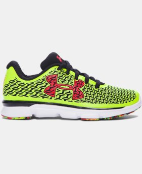 Boys' Pre-School UA ClutchFit® RebelSpeed Running Shoes LIMITED TIME: FREE U.S. SHIPPING 1 Color $50.99 to $57.99