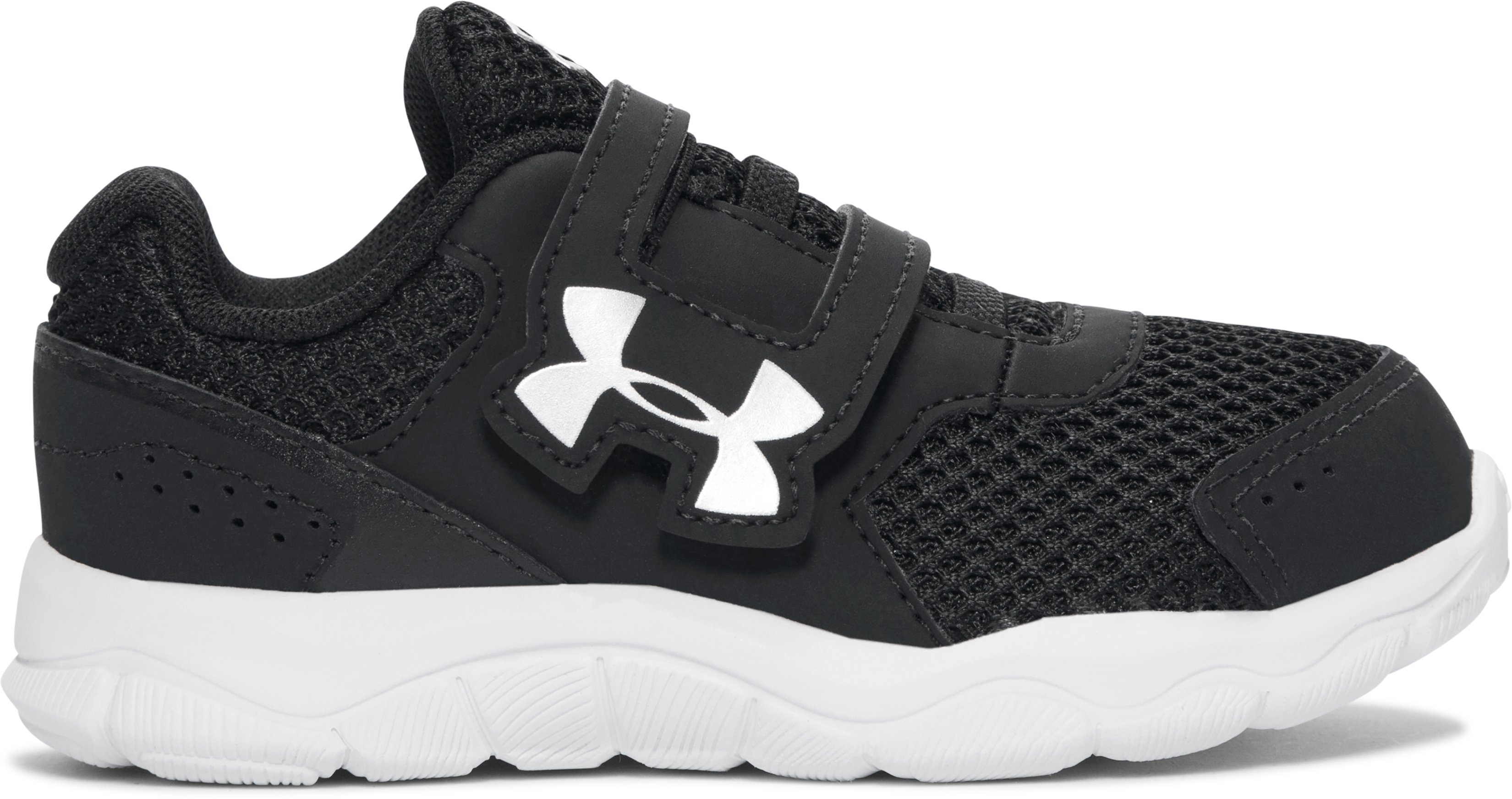 Boys' Infant UA Engage 3 Adjustable Closure Shoes, Black , undefined