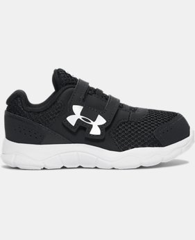 Best Seller Boys' Infant UA Engage 3 Adjustable Closure Shoes  2  Colors Available $35.99