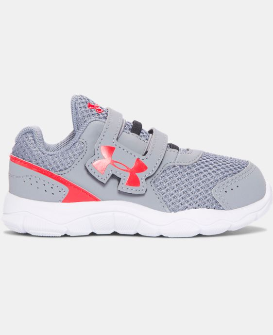 New Arrival  Boys' Infant UA Engage 3 Adjustable Closure Shoes  2 Colors $39.99