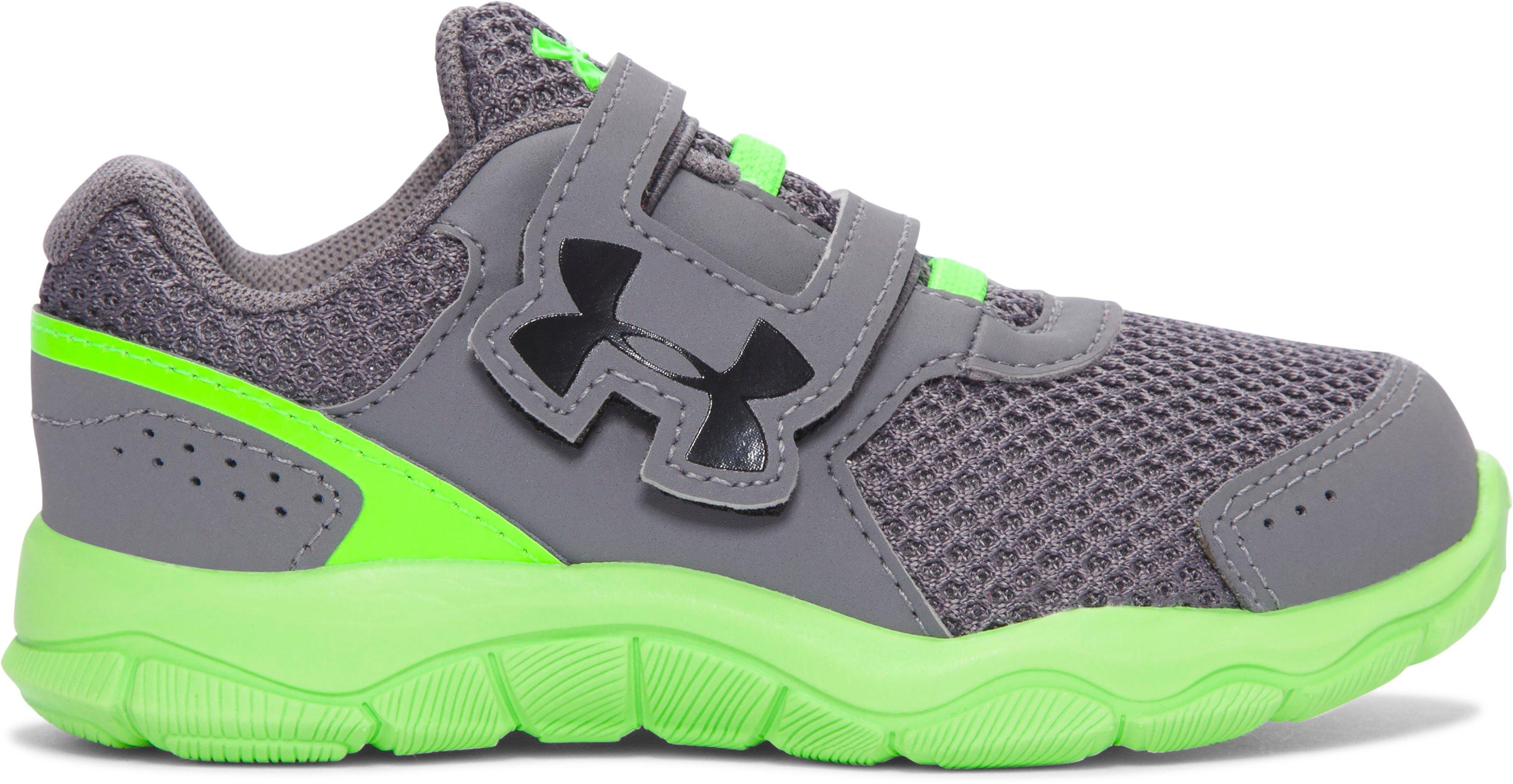Boys Infant UA Engage 3 Adjustable Closure Shoes