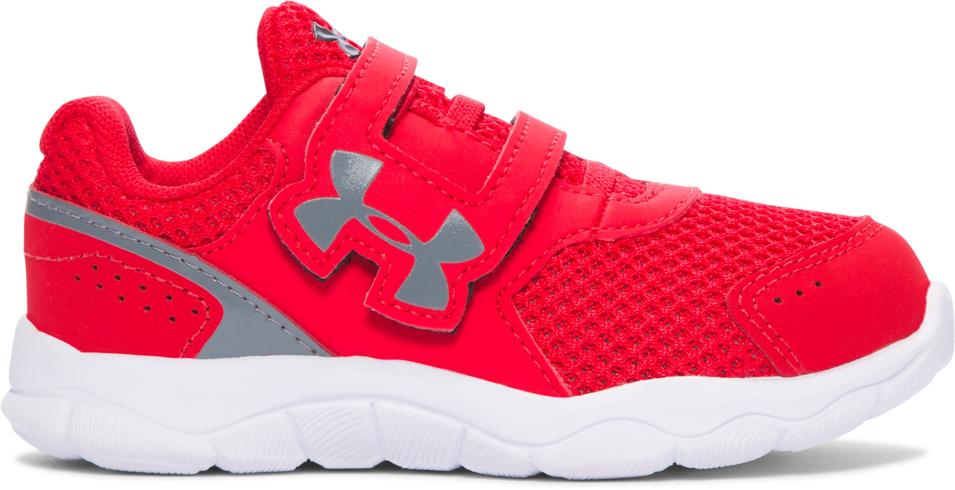 Boys' Infant UA Engage 3 Adjustable Closure Shoes, Red