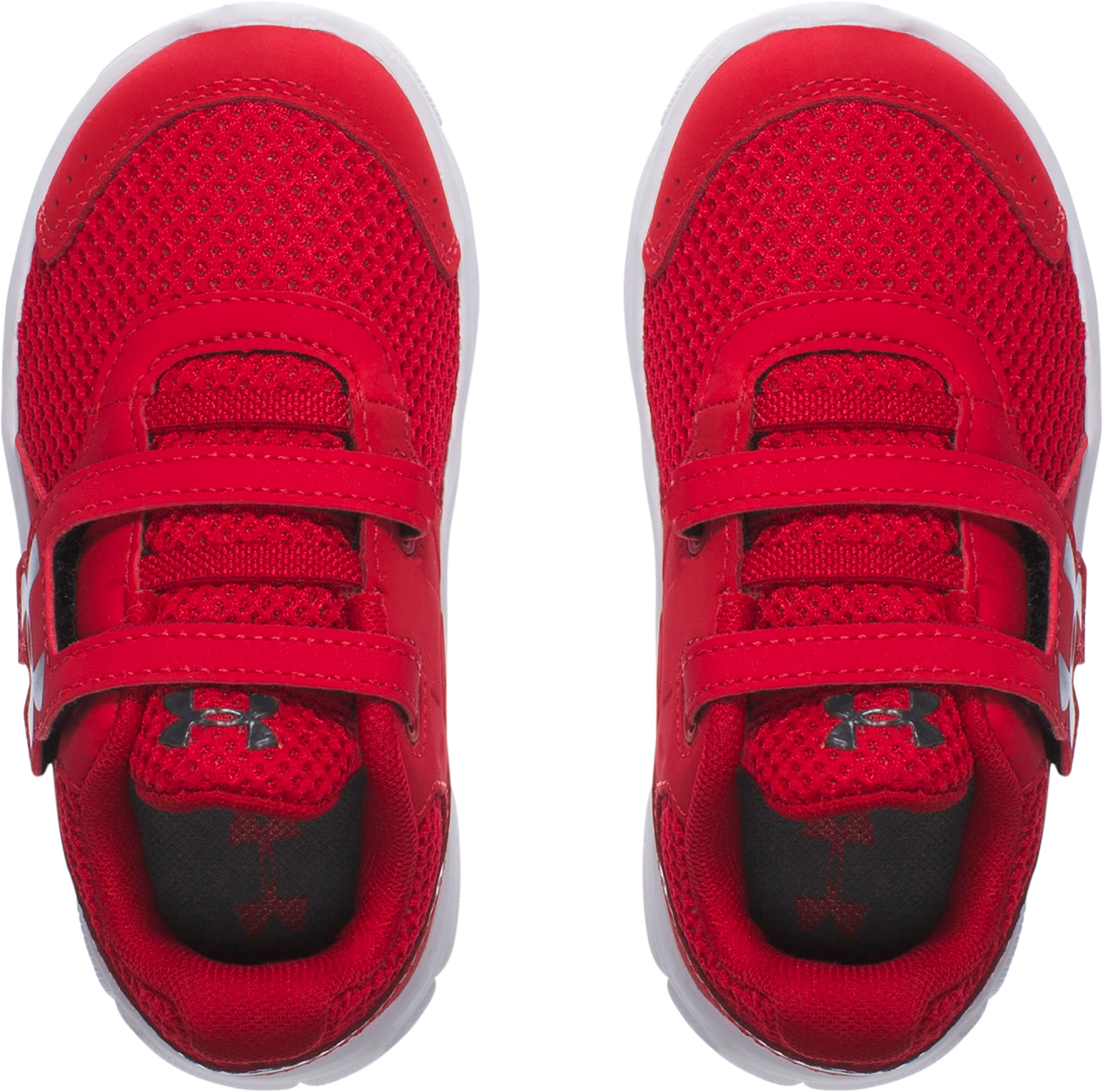 Boys' Infant UA Engage 3 Adjustable Closure Shoes, Red,