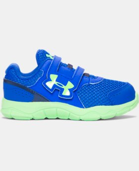 New Arrival  Boys' Infant UA Engage 3 Adjustable Closure Shoes  1 Color $39.99