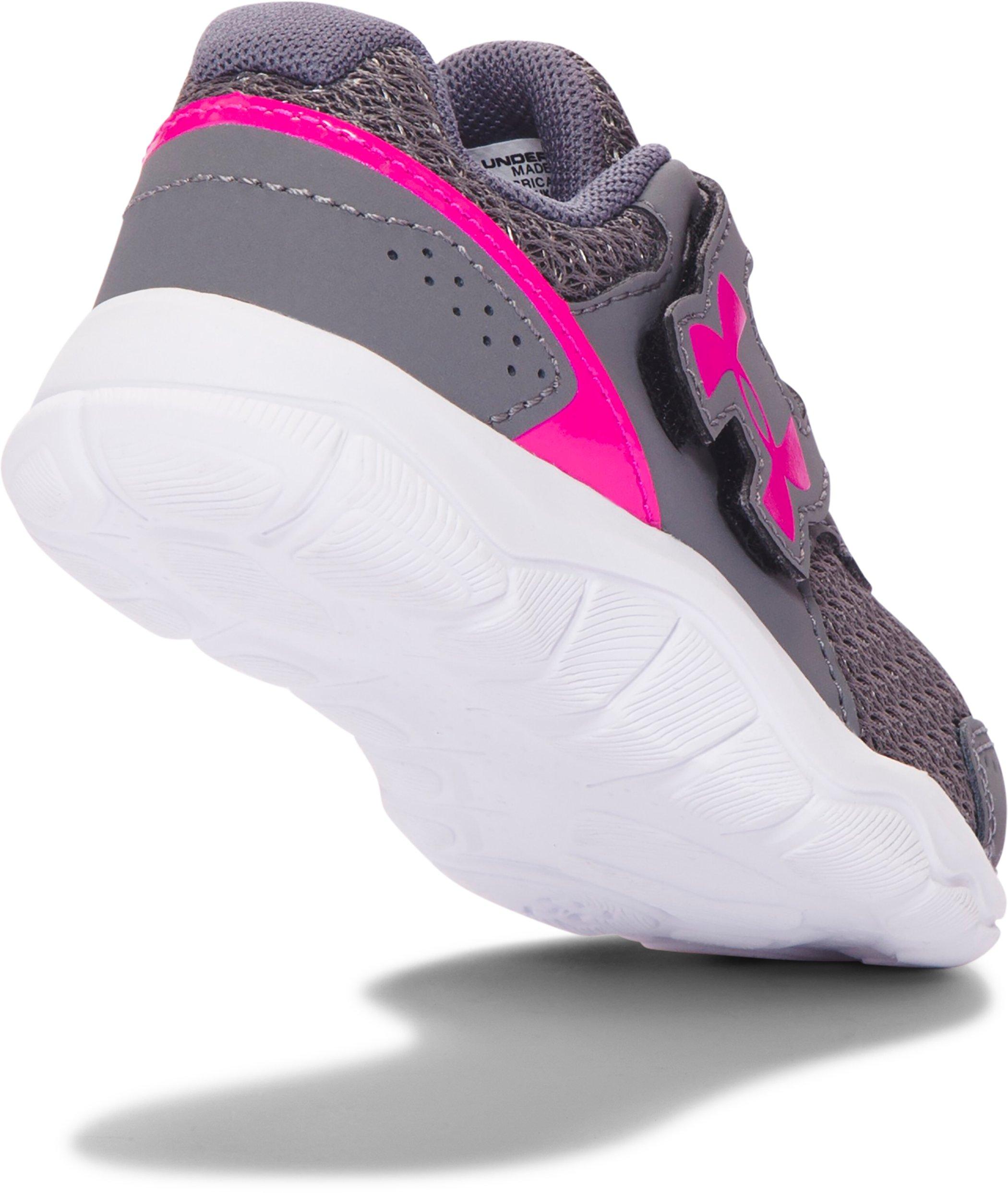 Girls Infant UA Engage 3 Adjustable Closure Shoes