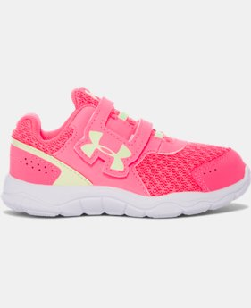 Girls' Infant UA Engage 3 Adjustable Closure Shoes  1 Color $39.99 to $44.99