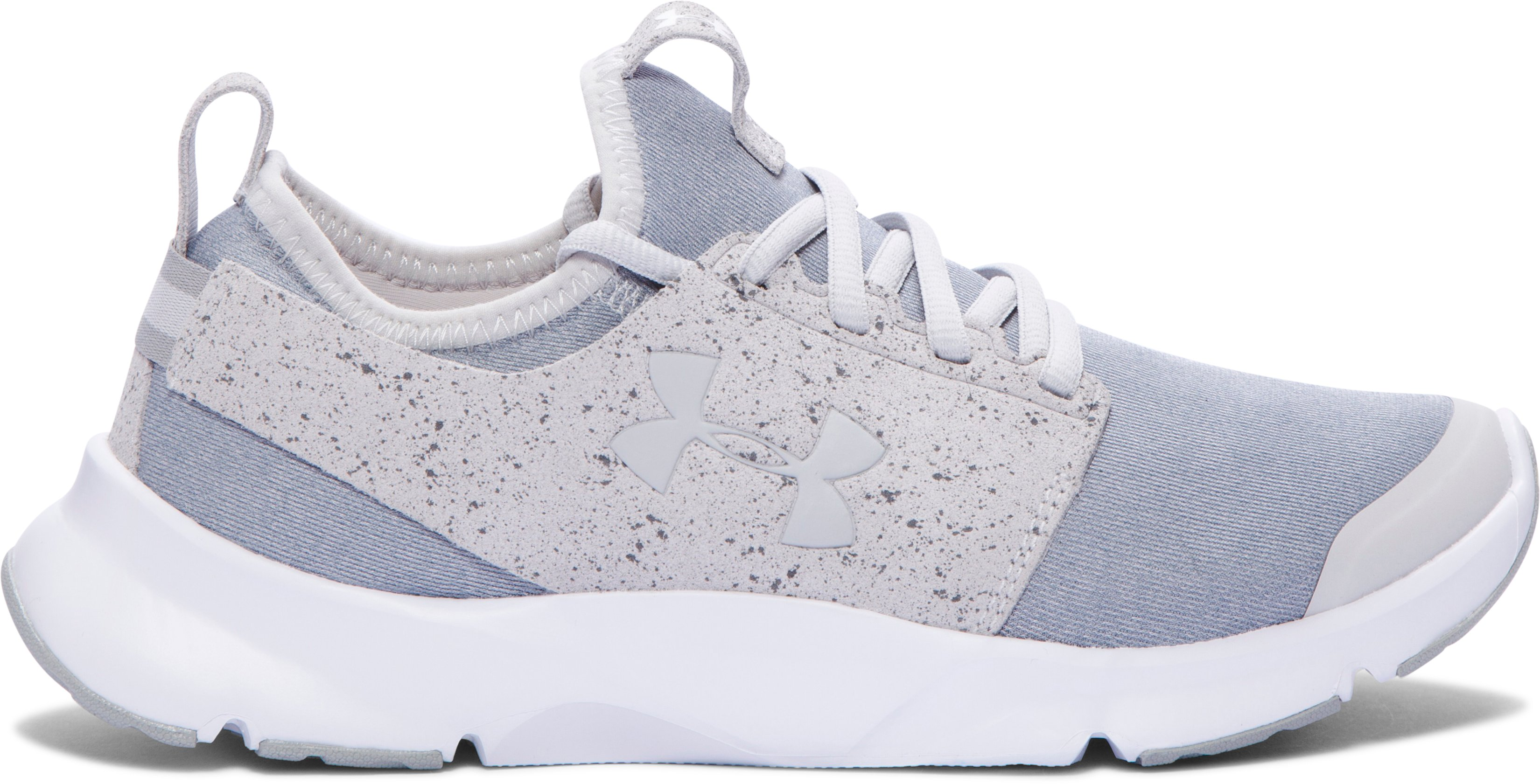 Women's UA Drift Mineral Running Shoes, GLACIER GRAY