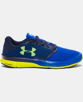 New Arrival Men's UA Charged Reckless Running Shoes  1 Color $89.99