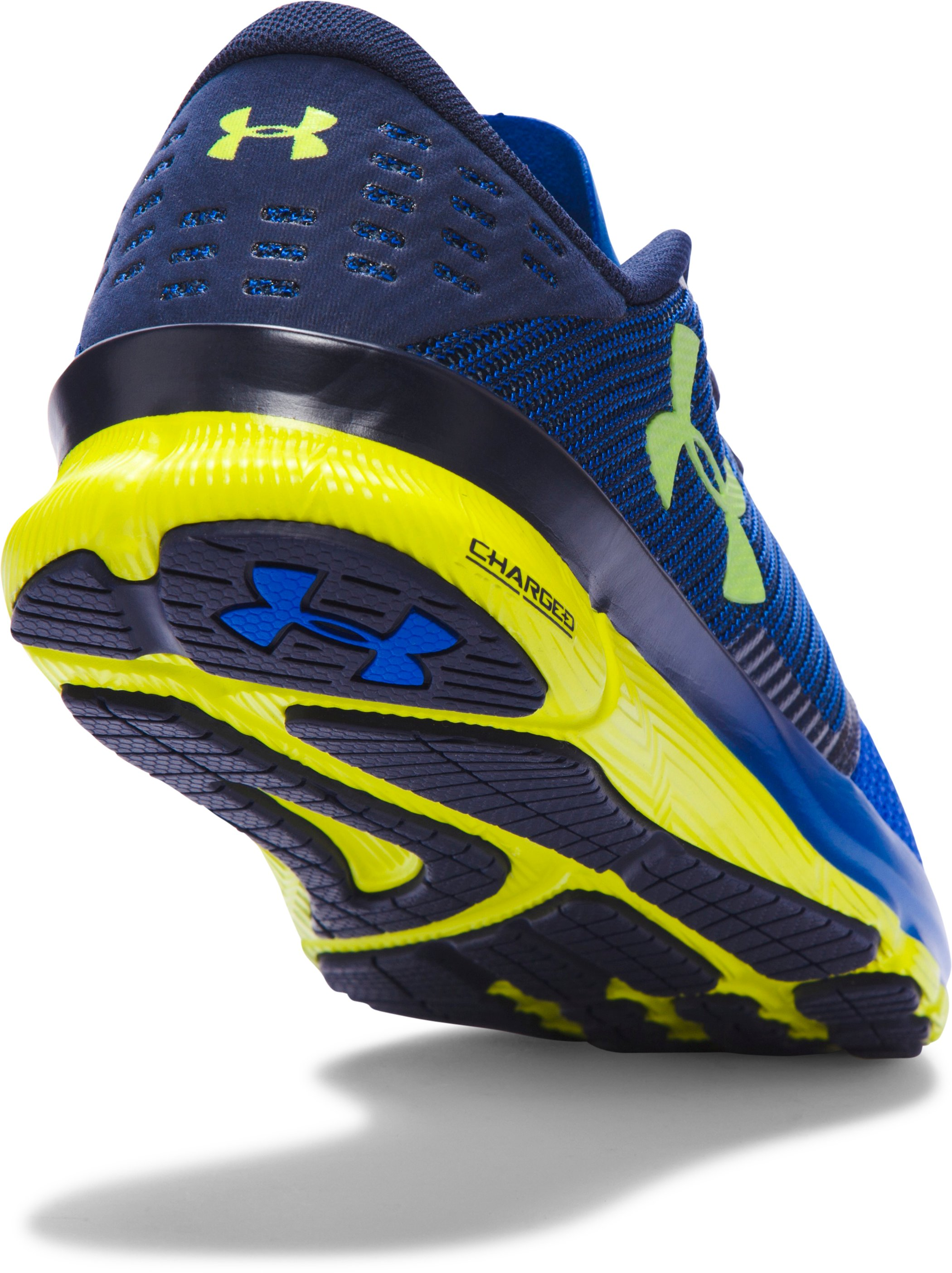 Men's UA Charged Reckless Running Shoes, ULTRA BLUE