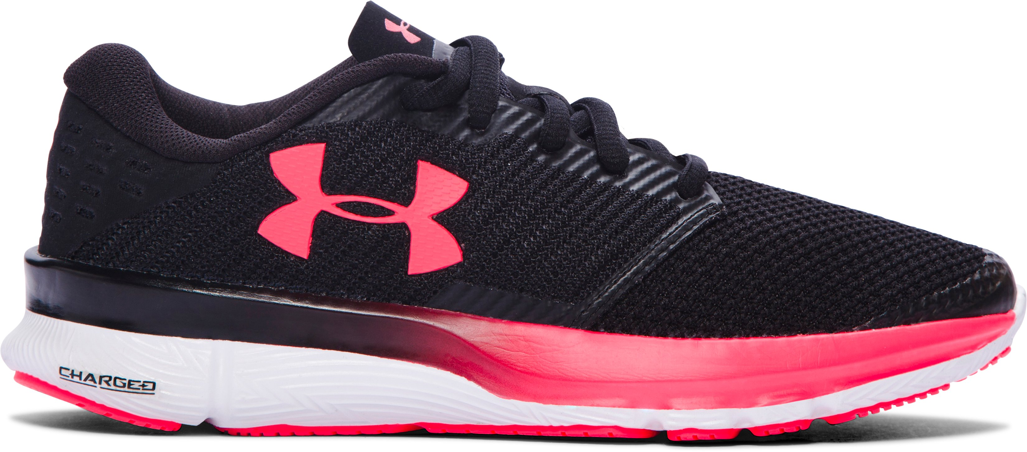 Women's UA Charged Reckless Running Shoes, Black