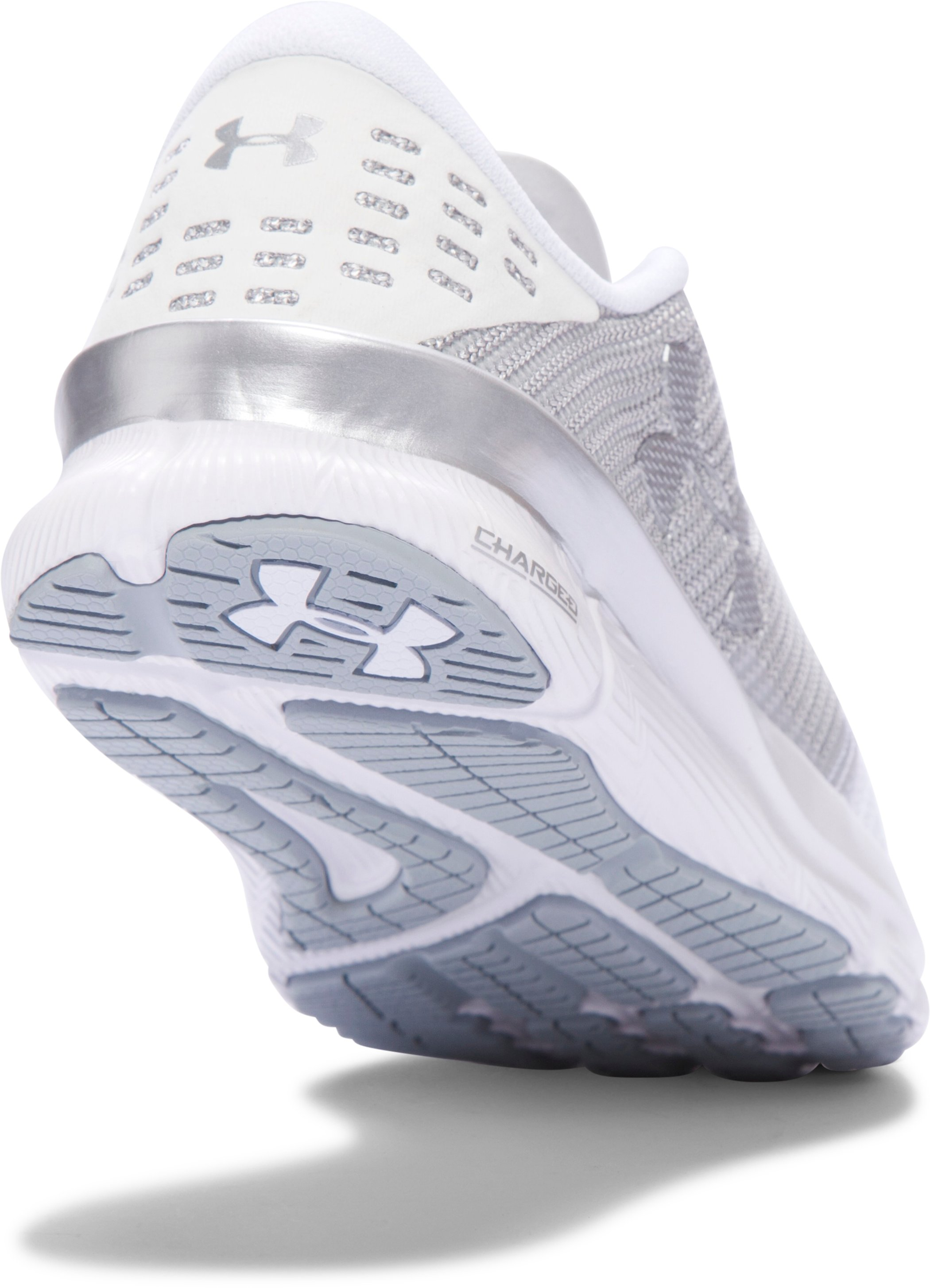 Women's UA Charged Reckless Running Shoes, White, undefined