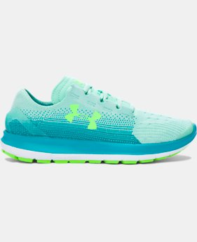 Girls' Grade School UA SpeedForm® Slingride Fade Running Shoes   $79.99