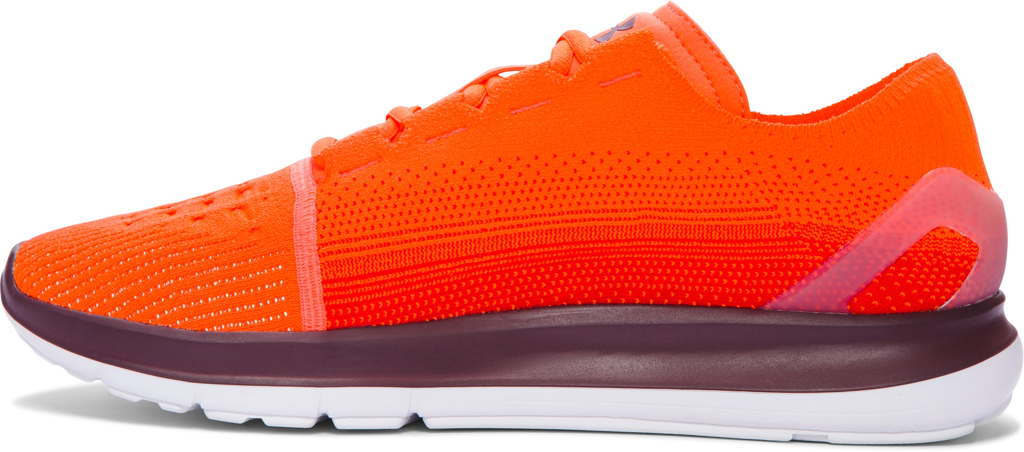 Men's UA SpeedForm® Slingride Fade Running Shoes, MAGMA ORANGE,