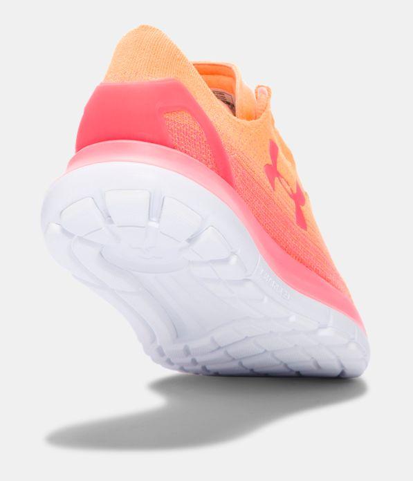 Under Armour Women S Speedform Slingride Running Shoes Glow Orange