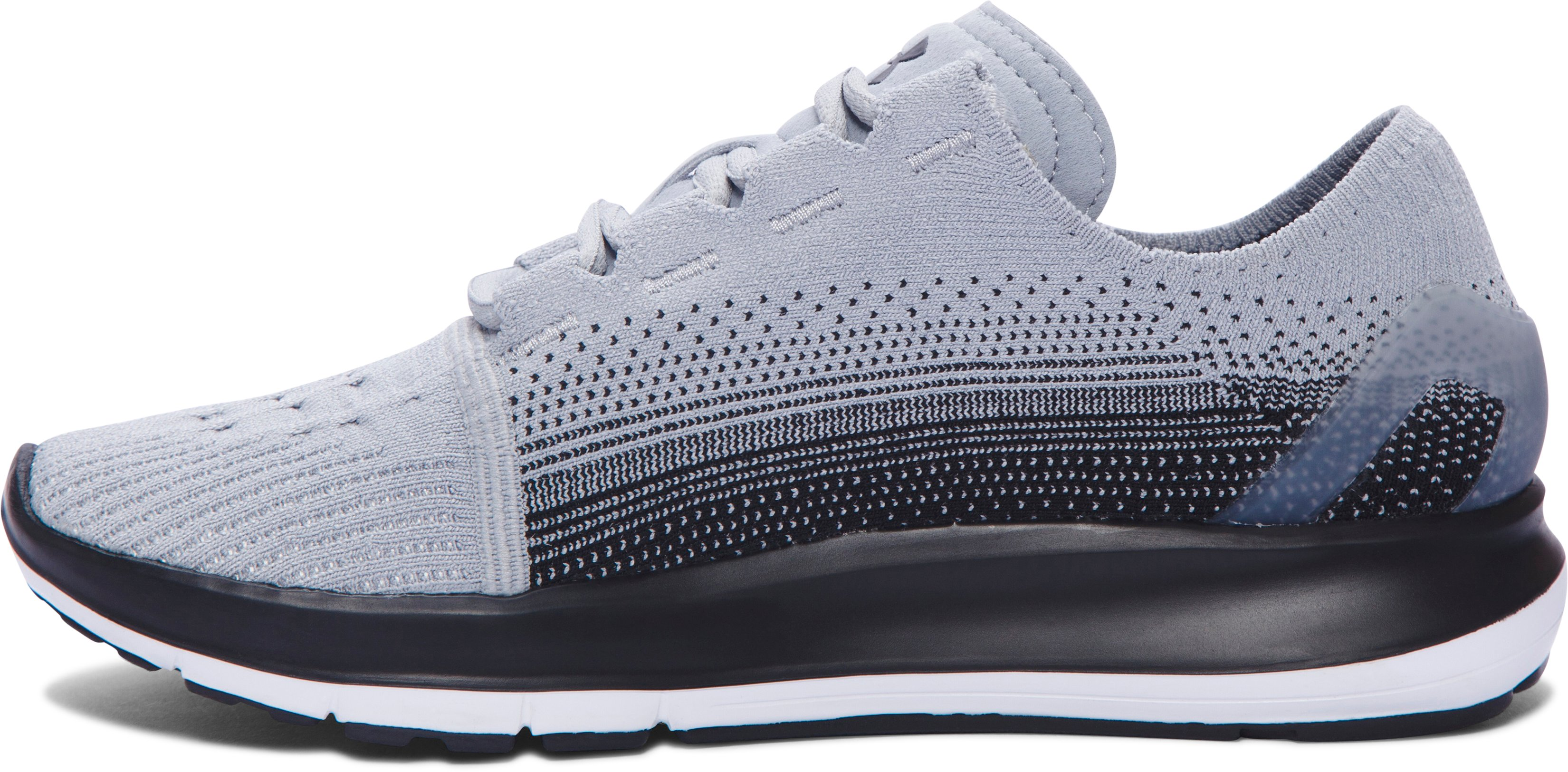 Women's UA SpeedForm® Slingride Fade Running Shoes, OVERCAST GRAY, undefined