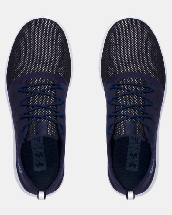 Men's UA Charged 24/7 Low Running Shoes, Navy, pdpMainDesktop image number 4