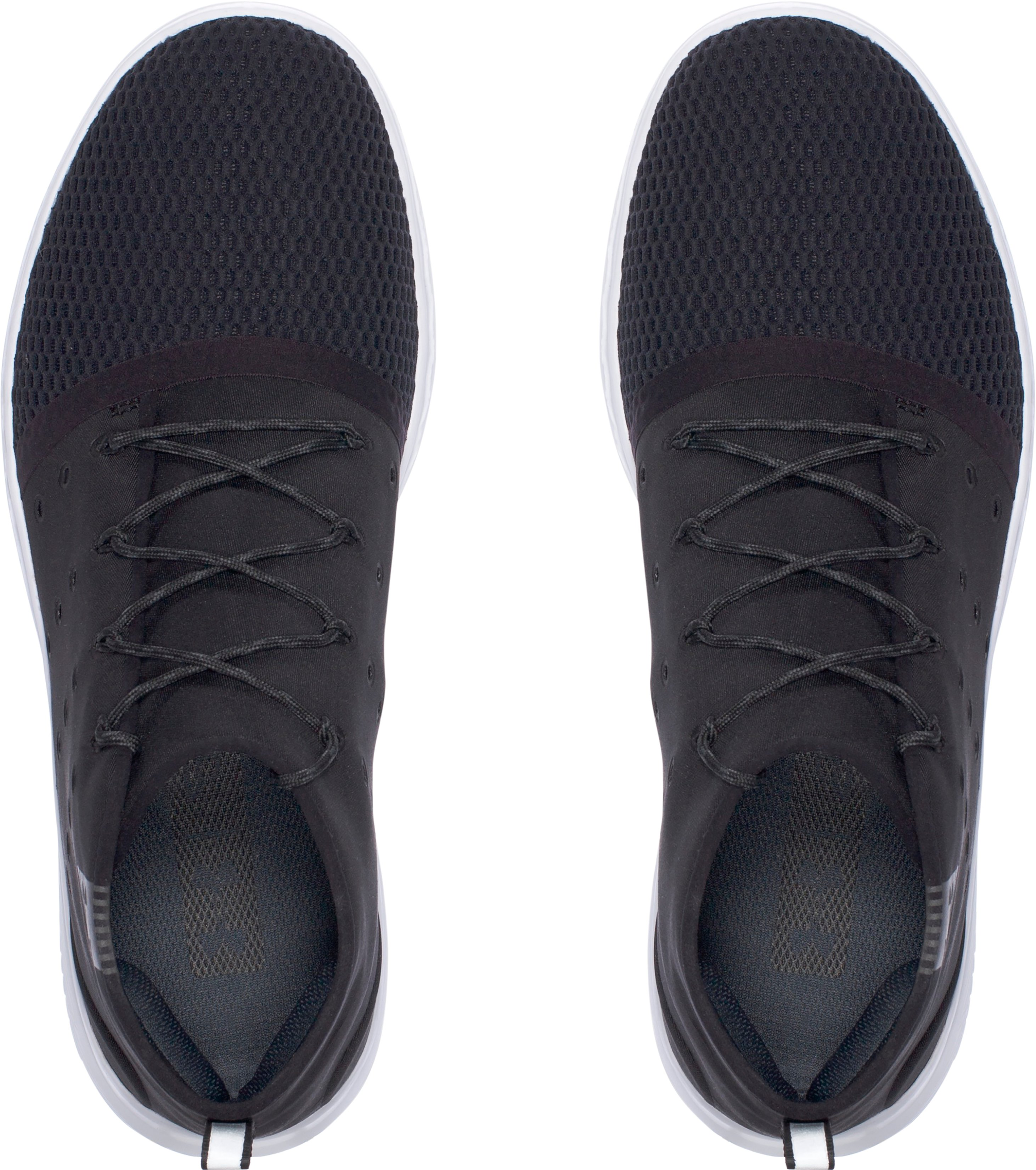 Men's UA Charged 24/7 Mid Running Shoes, Black ,