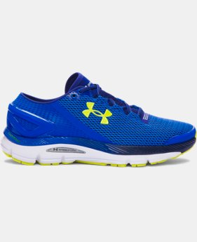 Best Seller Men's UA SpeedForm® Gemini 2.1 Running Shoes  5 Colors $129.99