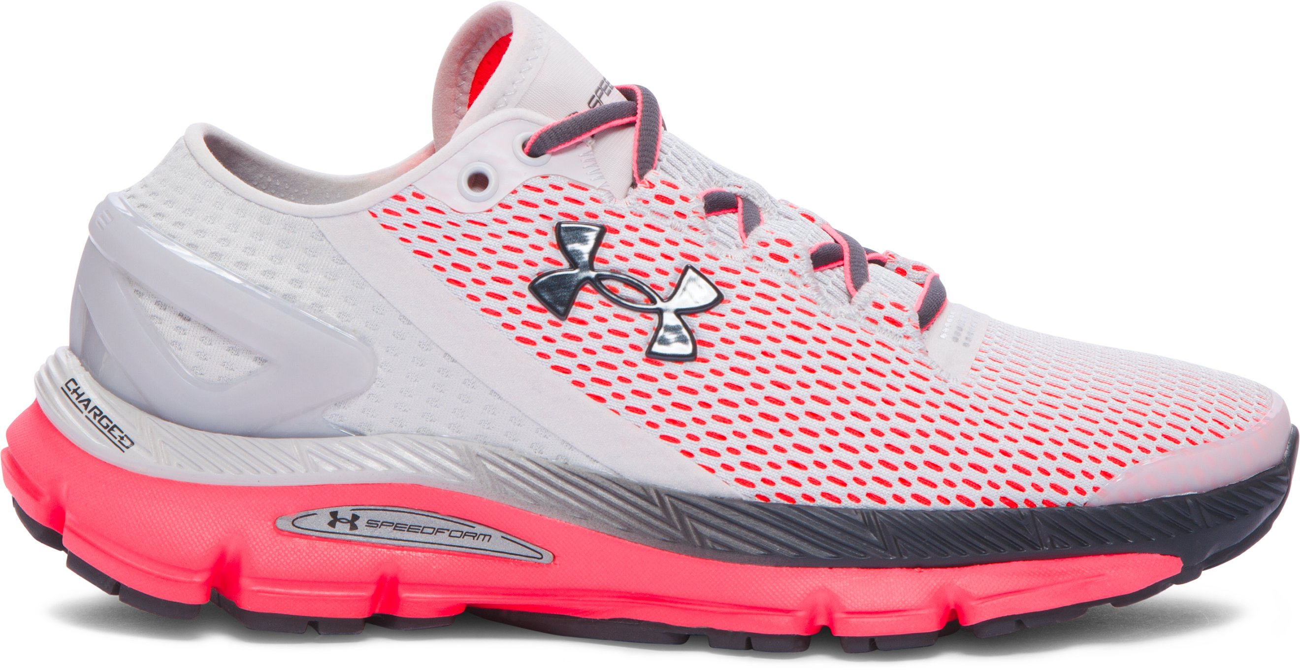 Women's UA SpeedForm® Gemini 2.1 Running Shoes, GLACIER GRAY