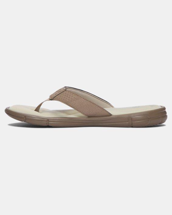 Men's UA Ignite II Sandals, Green, pdpMainDesktop image number 1