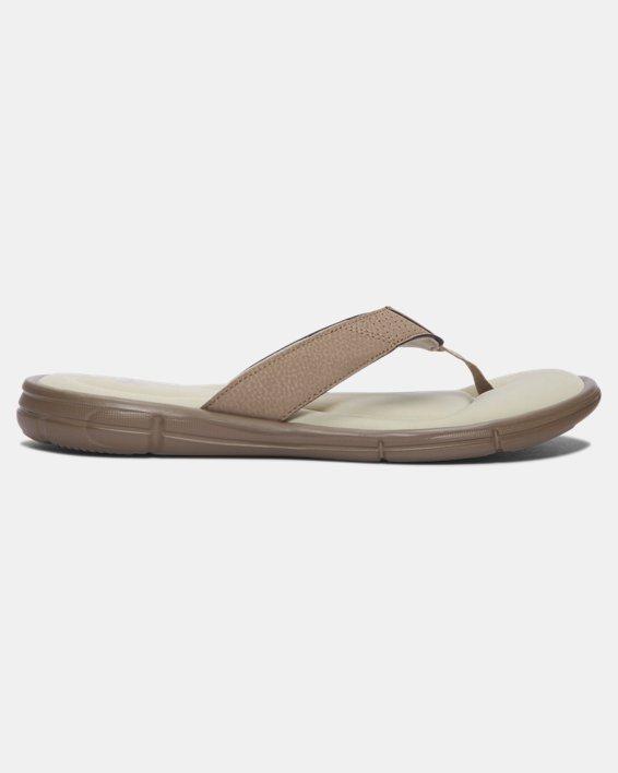 Men's UA Ignite II Sandals, Green, pdpMainDesktop image number 0