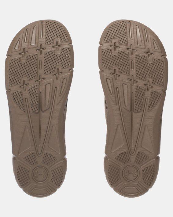 Men's UA Ignite II Sandals, Green, pdpMainDesktop image number 3