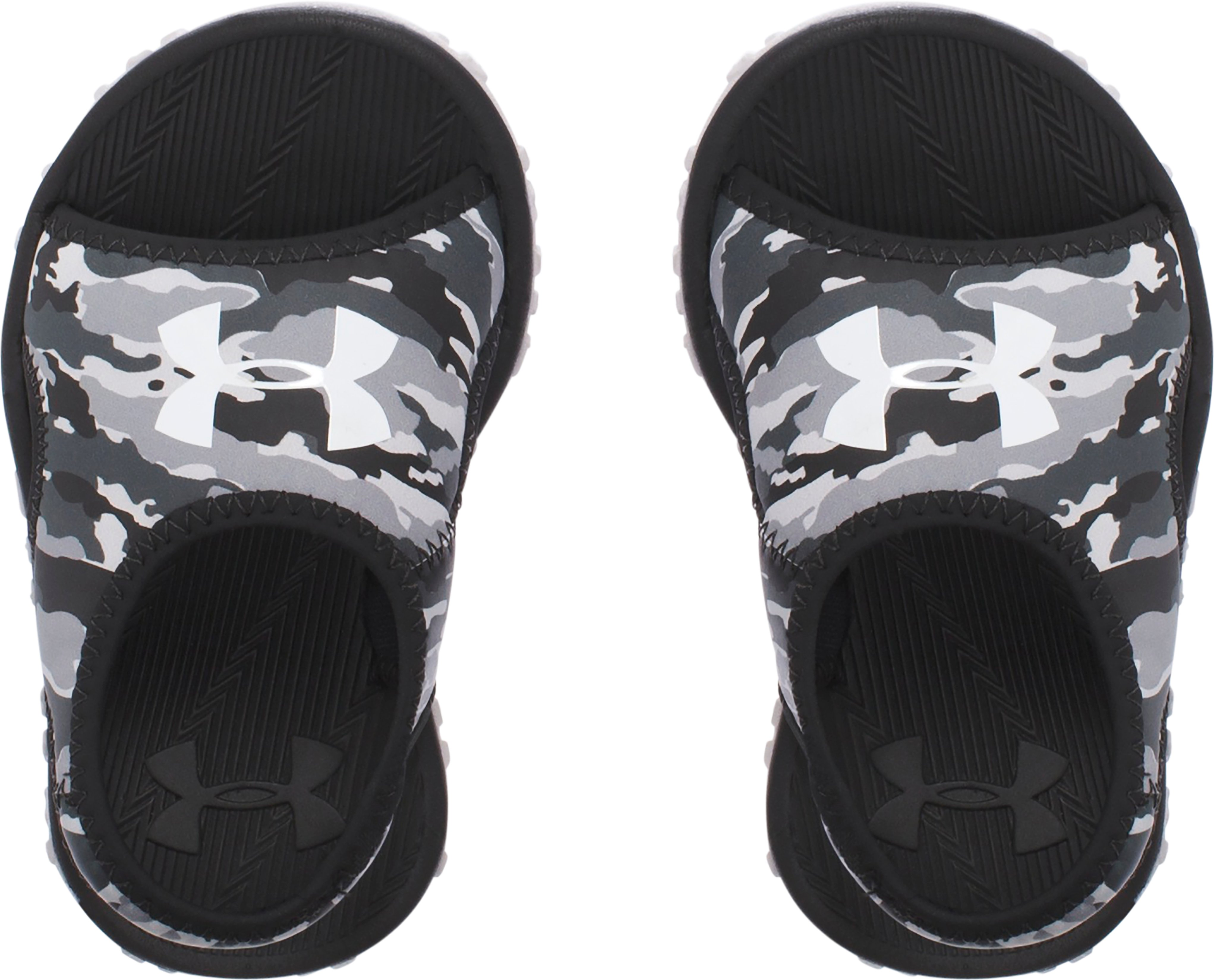 Boys' Infant UA Fat Tire Sandals, GRAY MATTER,