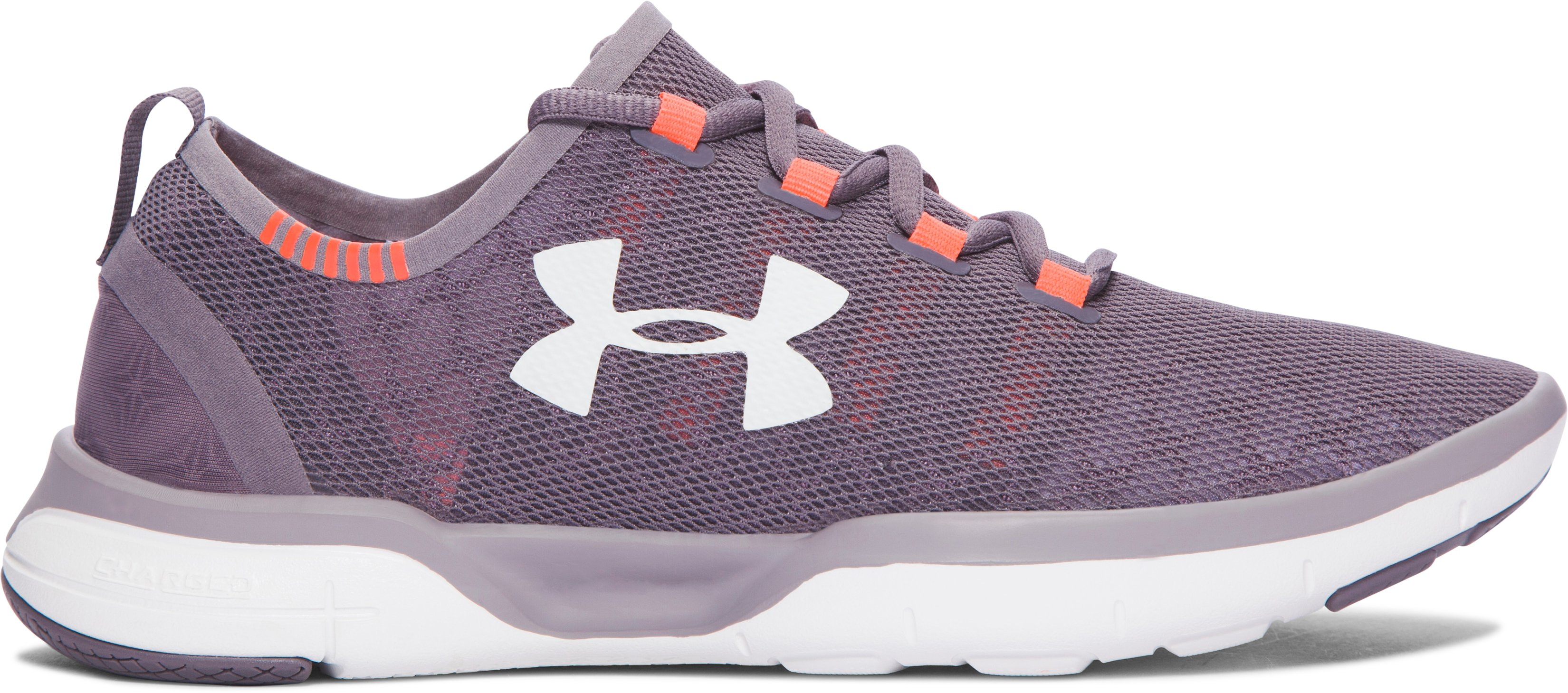 Girls' Grade School UA Charged CoolSwitch Running Shoes, FLINT