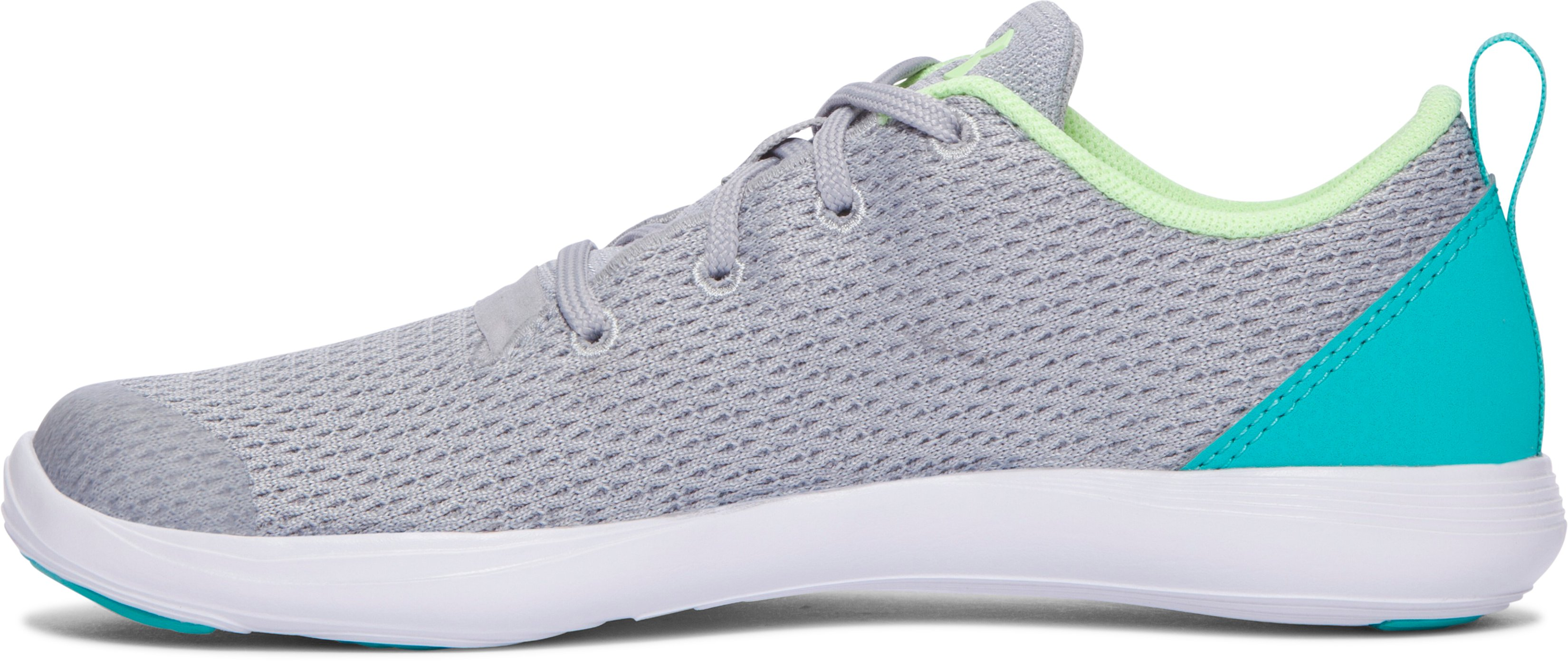 Girls' Pre-School UA Street Precision Sport Low Shoes, OVERCAST GRAY
