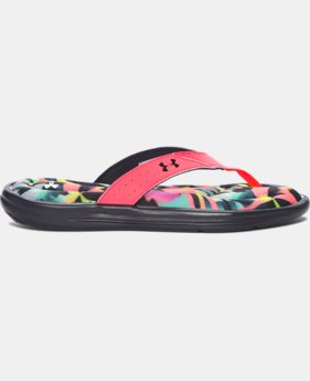 New Arrival Women's UA Marbella V Floral Sandals   $34.99