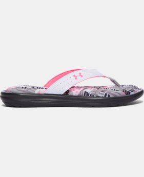 Girls' UA Marbella Geo Mix V Sandals  1 Color $22.99