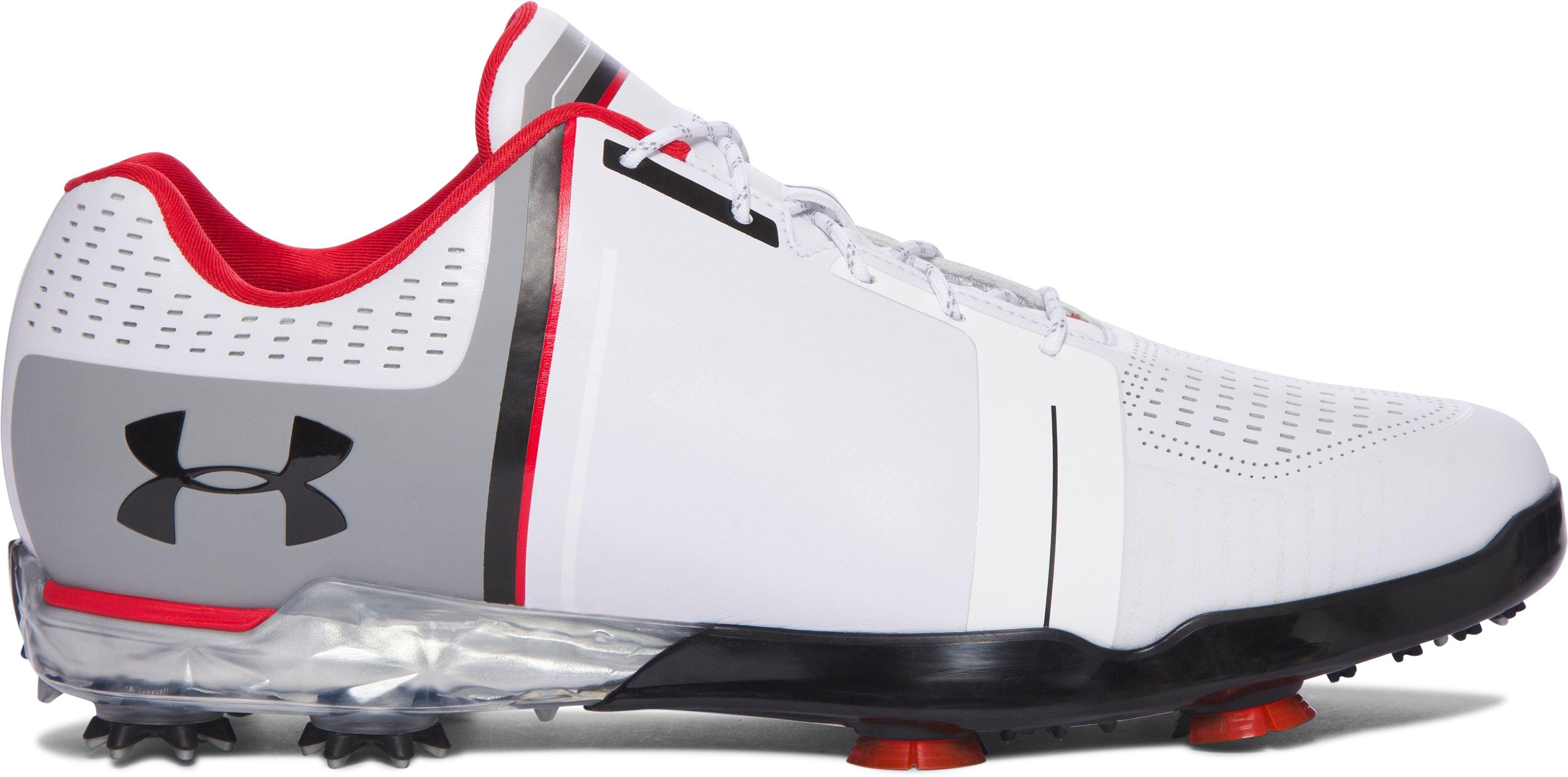 Zapatillas de golf UA Spieth One para hombre, 360 degree view