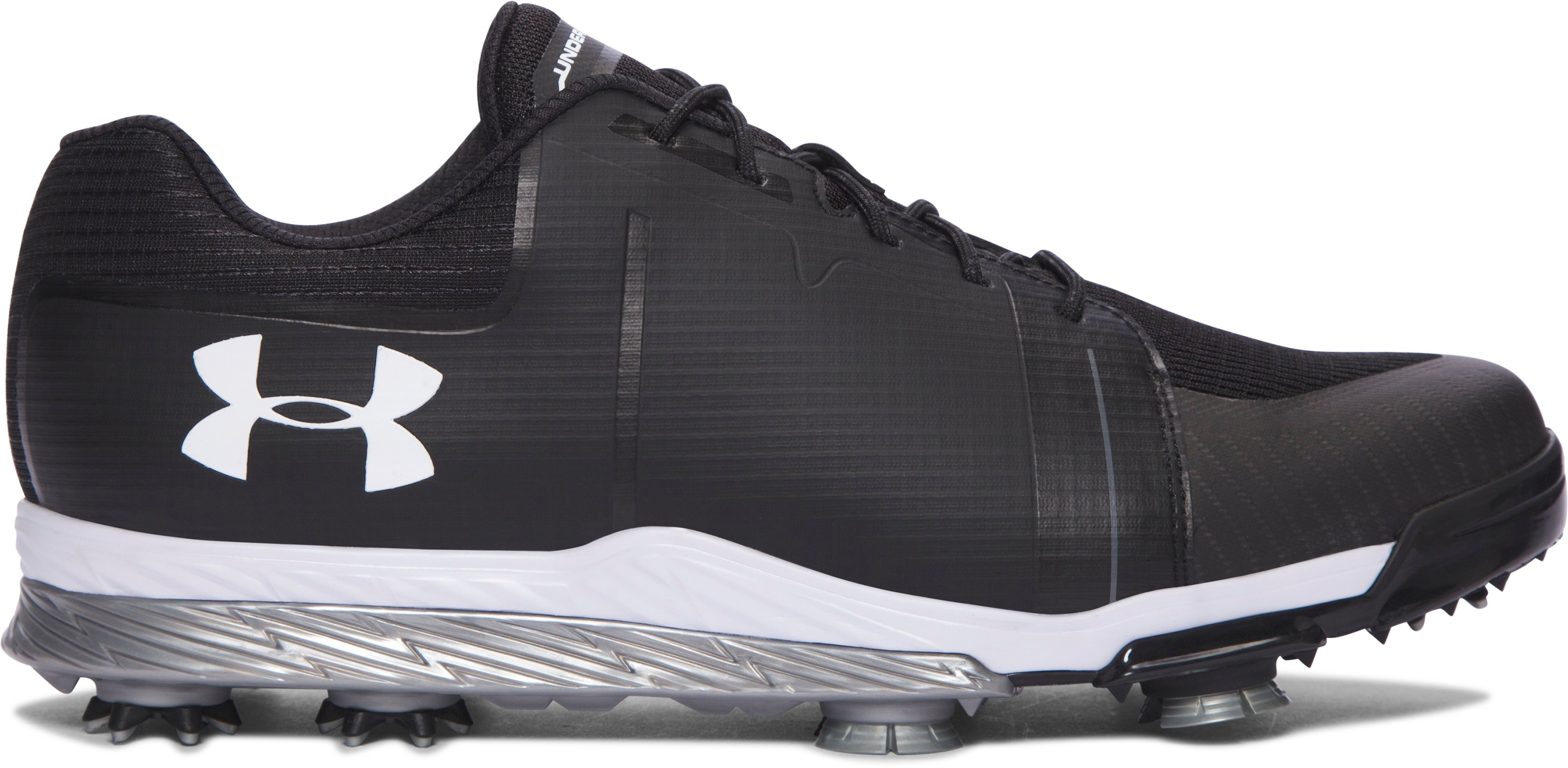 Men's UA Tempo Sport Golf Shoes, 360 degree view