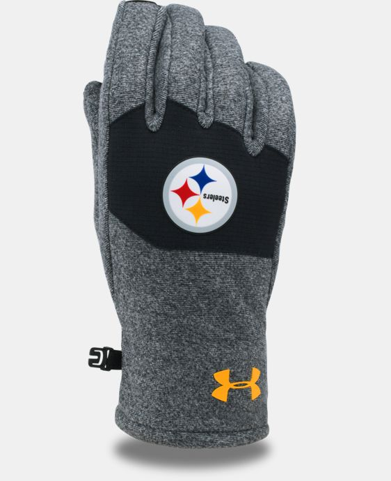 New Arrival Men's NFL Combine Authentic UA ColdGear® Infrared Fleece Gloves LIMITED TIME: FREE U.S. SHIPPING 3 Colors $34.99