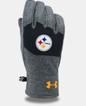 New Arrival Kids' NFL Combine Authentic UA ColdGear® Infrared Fleece Gloves LIMITED TIME: FREE U.S. SHIPPING  $29.99