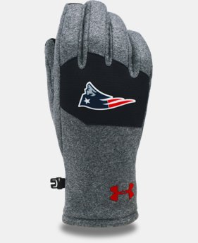 Kids' NFL Combine Authentic UA ColdGear® Infrared Fleece Gloves   $30