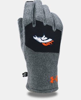 Kids' NFL Combine Authentic UA ColdGear® Infrared Fleece Gloves  2  Colors Available $30
