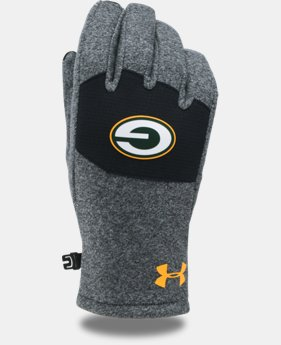 Kids' NFL Combine Authentic UA ColdGear® Infrared Fleece Gloves  4 Colors $30