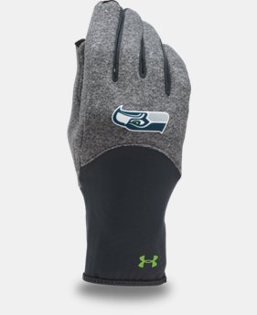 Women's NFL Combine Authentic UA ColdGear® Infrared Fleece Gloves  1 Color $34.99