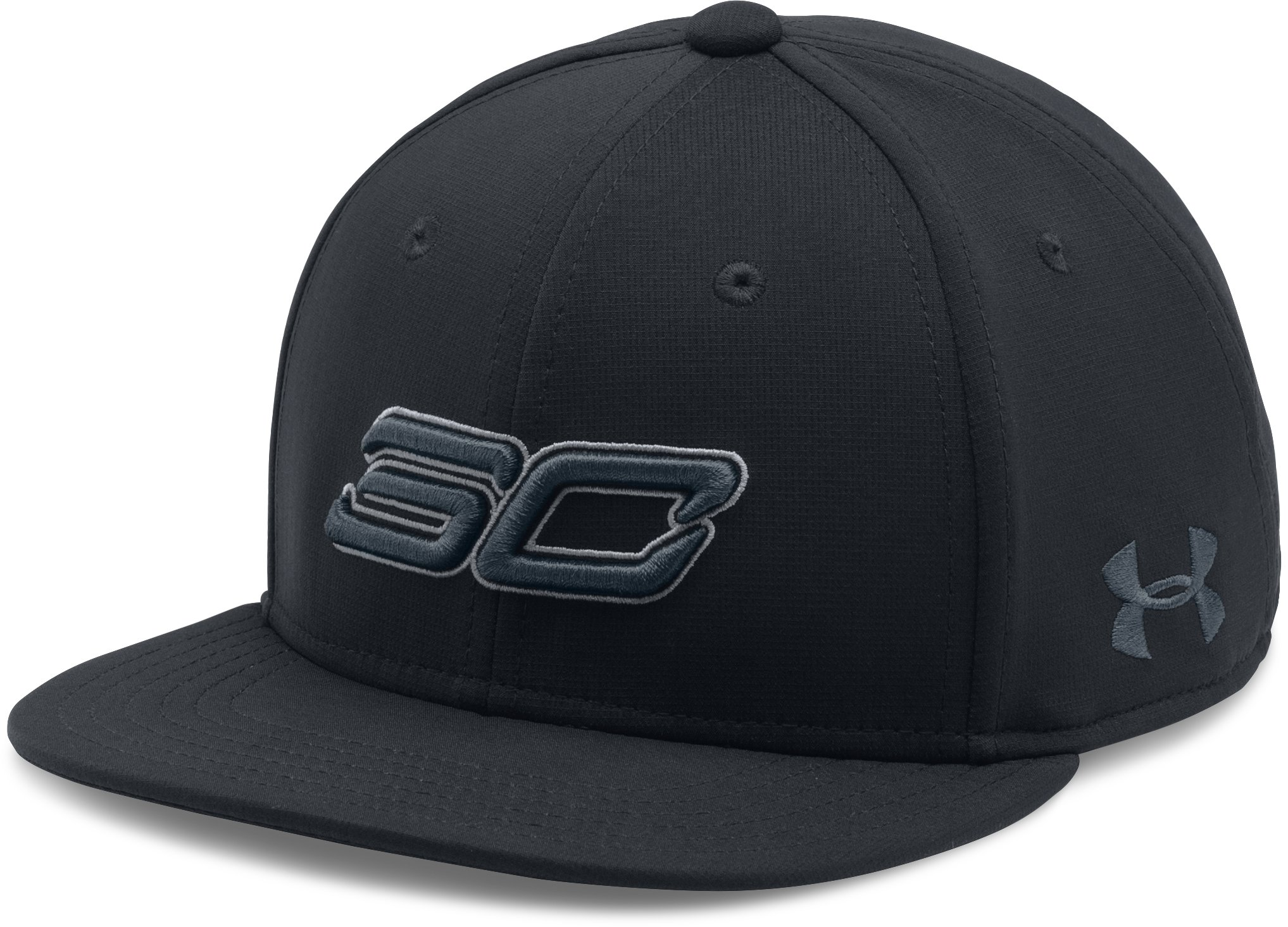 Boys' SC30 Core Snapback Cap, Black