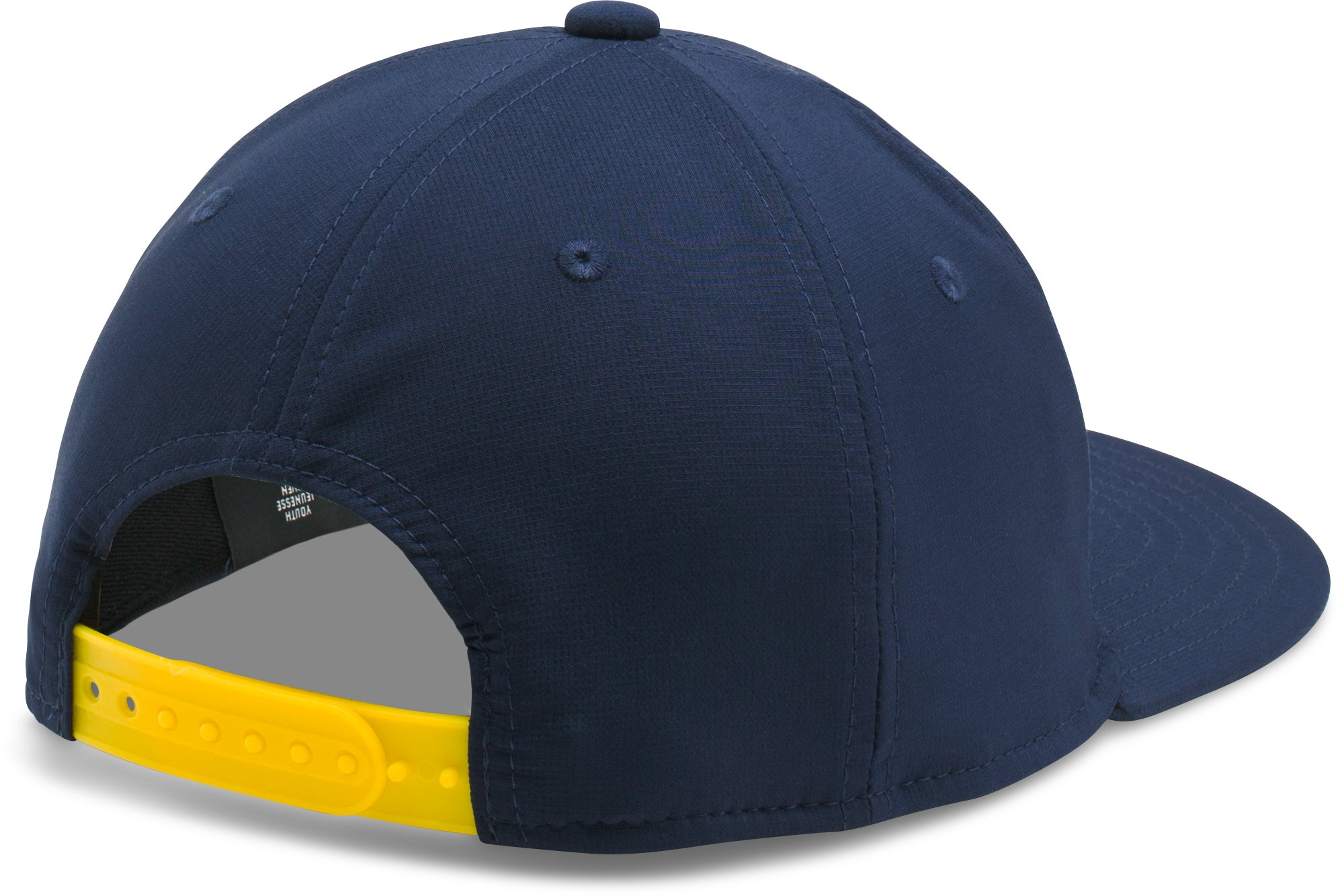 Boys' SC30 Core Snapback Cap, Midnight Navy, zoomed image